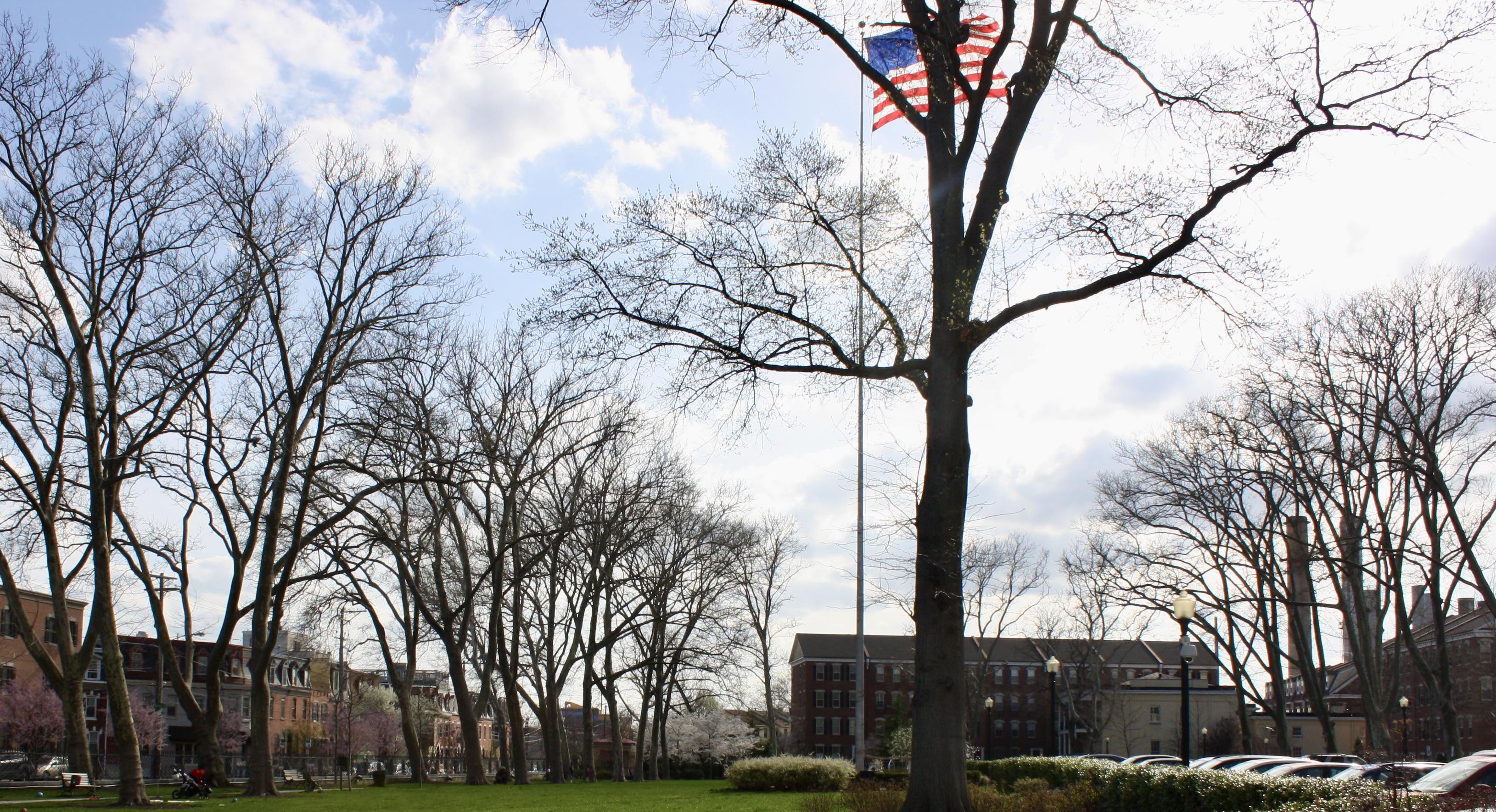 Naval Square Complex Lawn