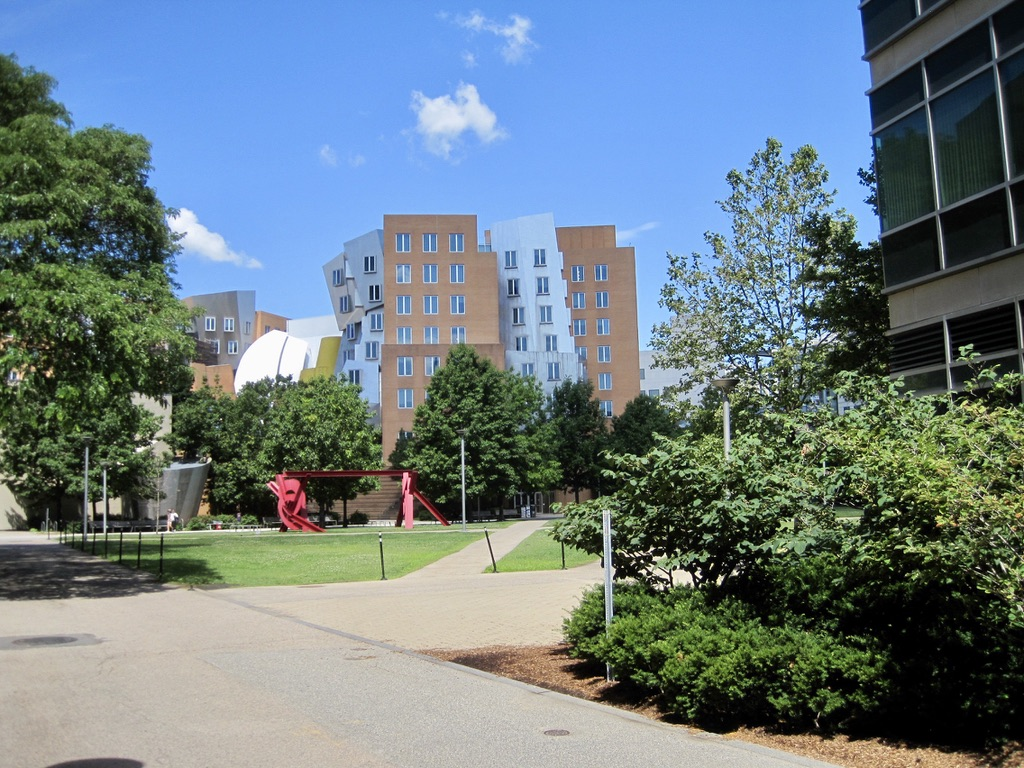 MIT's East Campus and Stata Center
