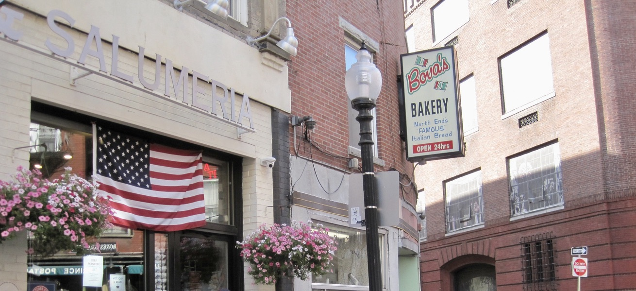 Bova's Bakery on Salem Street in the North End