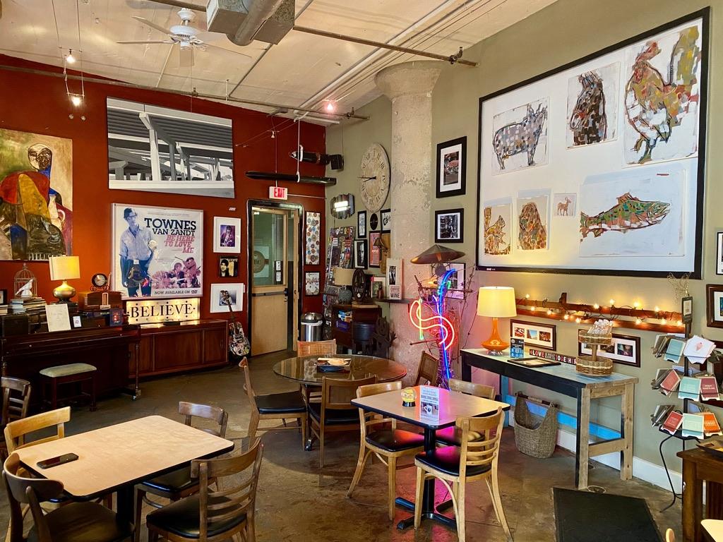 Opening Bell Coffee in South Side on Lamar, Cedars