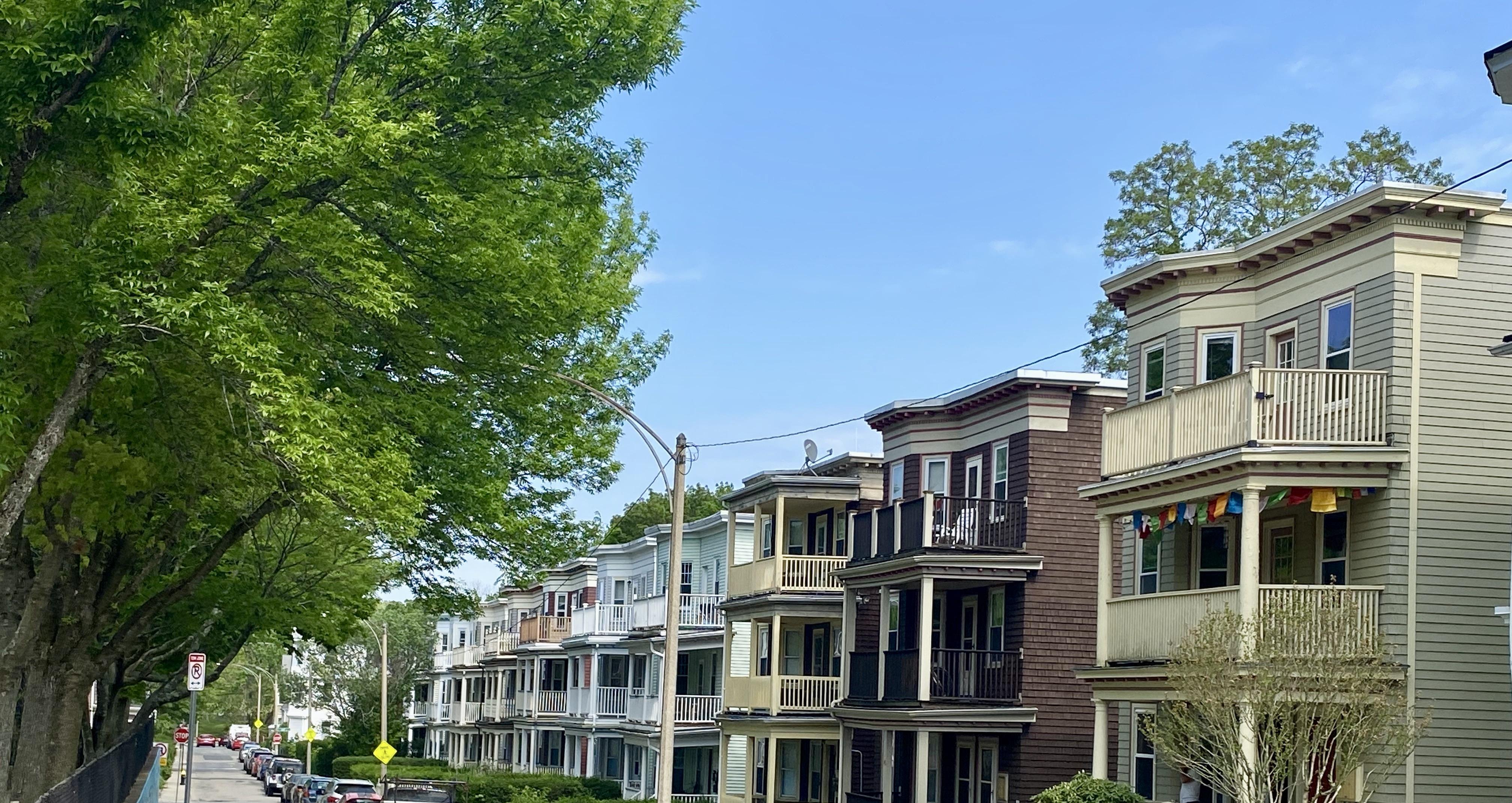 Triple-Decker Homes in Jamaica Plain