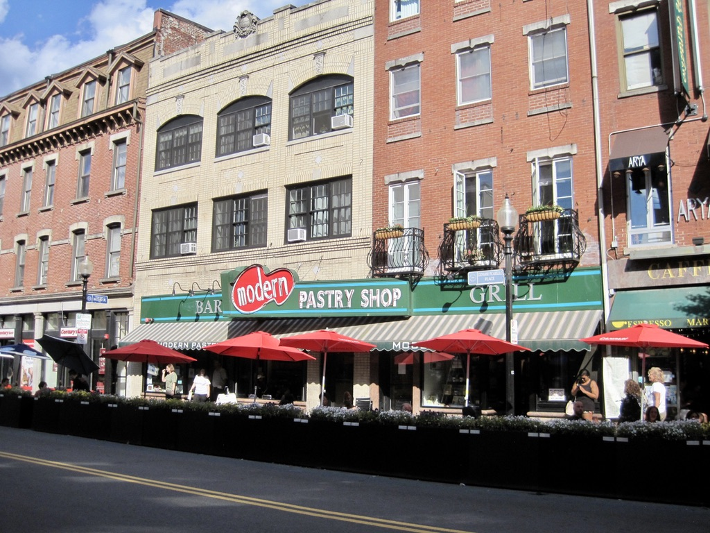 The North End's Famous Modern Pastry Shop