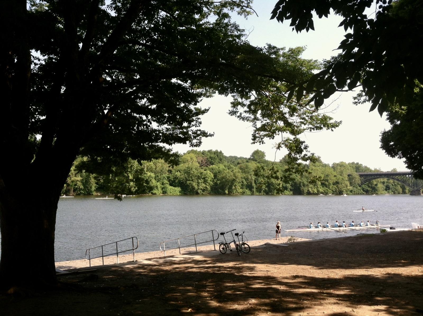 Schuylkill River in East Falls, Philadelphia