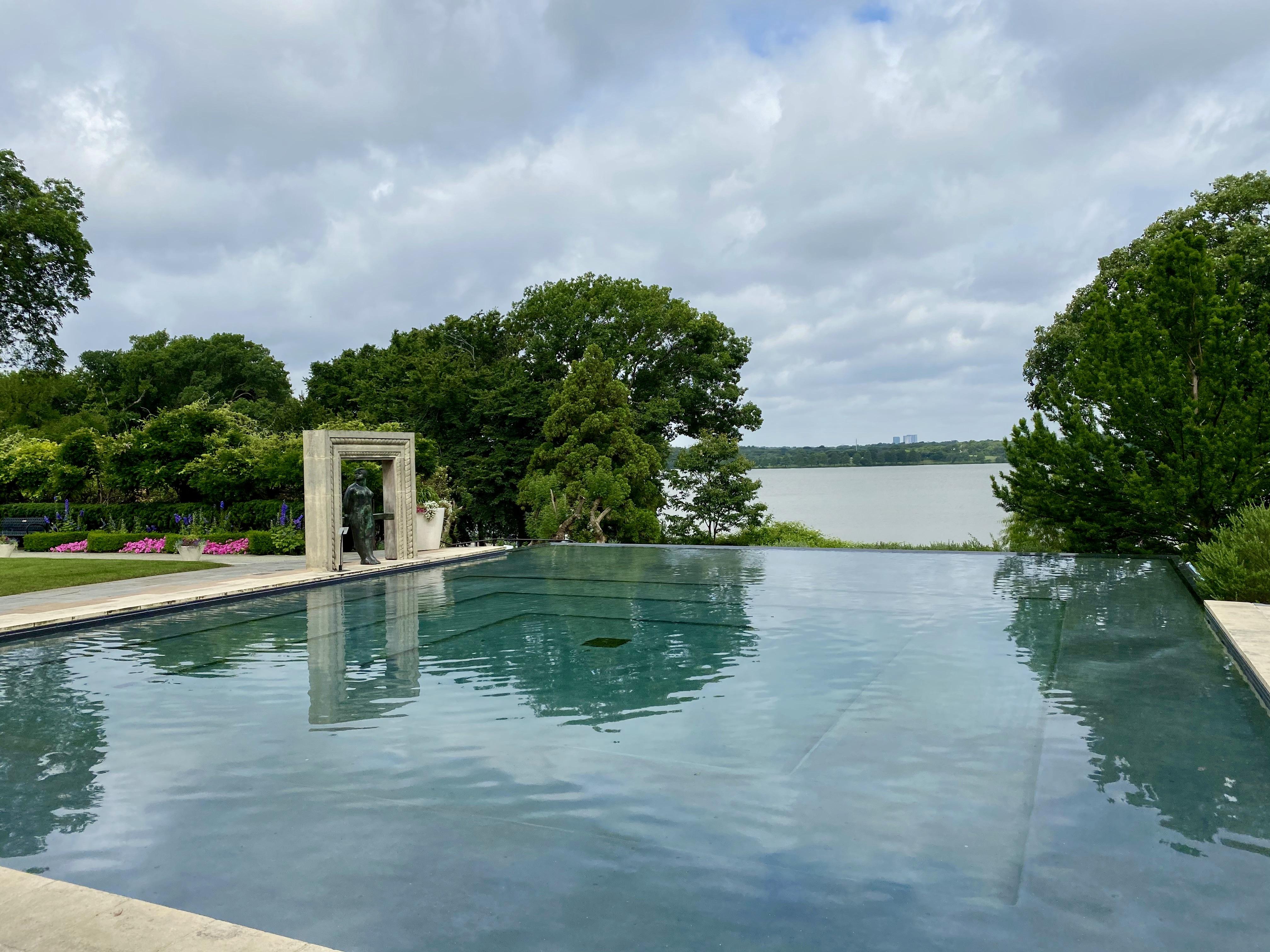 Dallas Arboretum Reflecting Pool