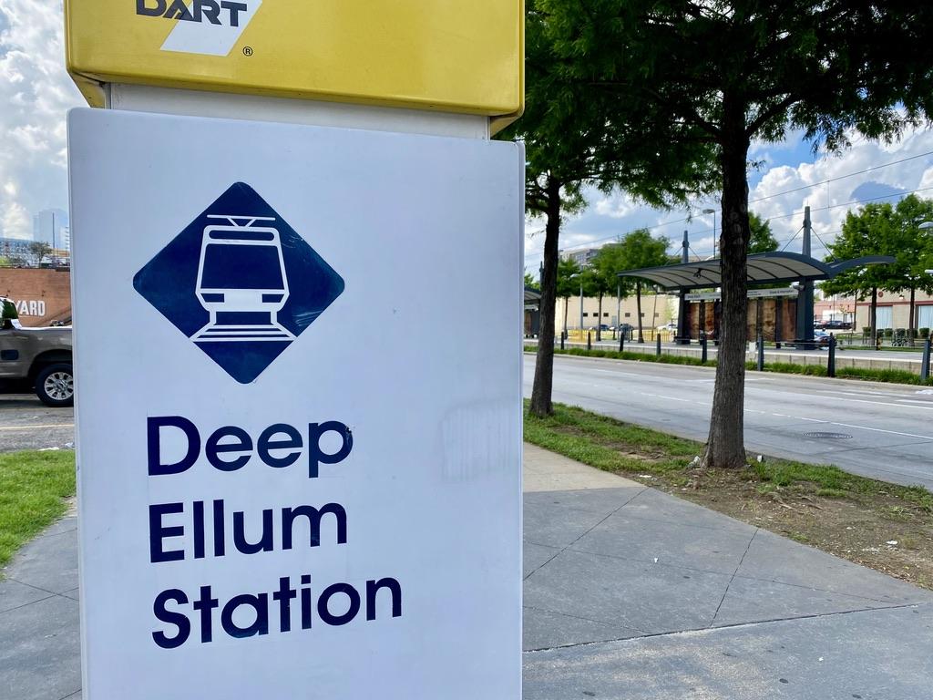 Deep Ellum DART Station