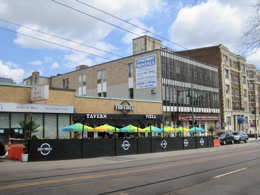 The Circle Tavern in Cleveland Circle, Brighton, MA