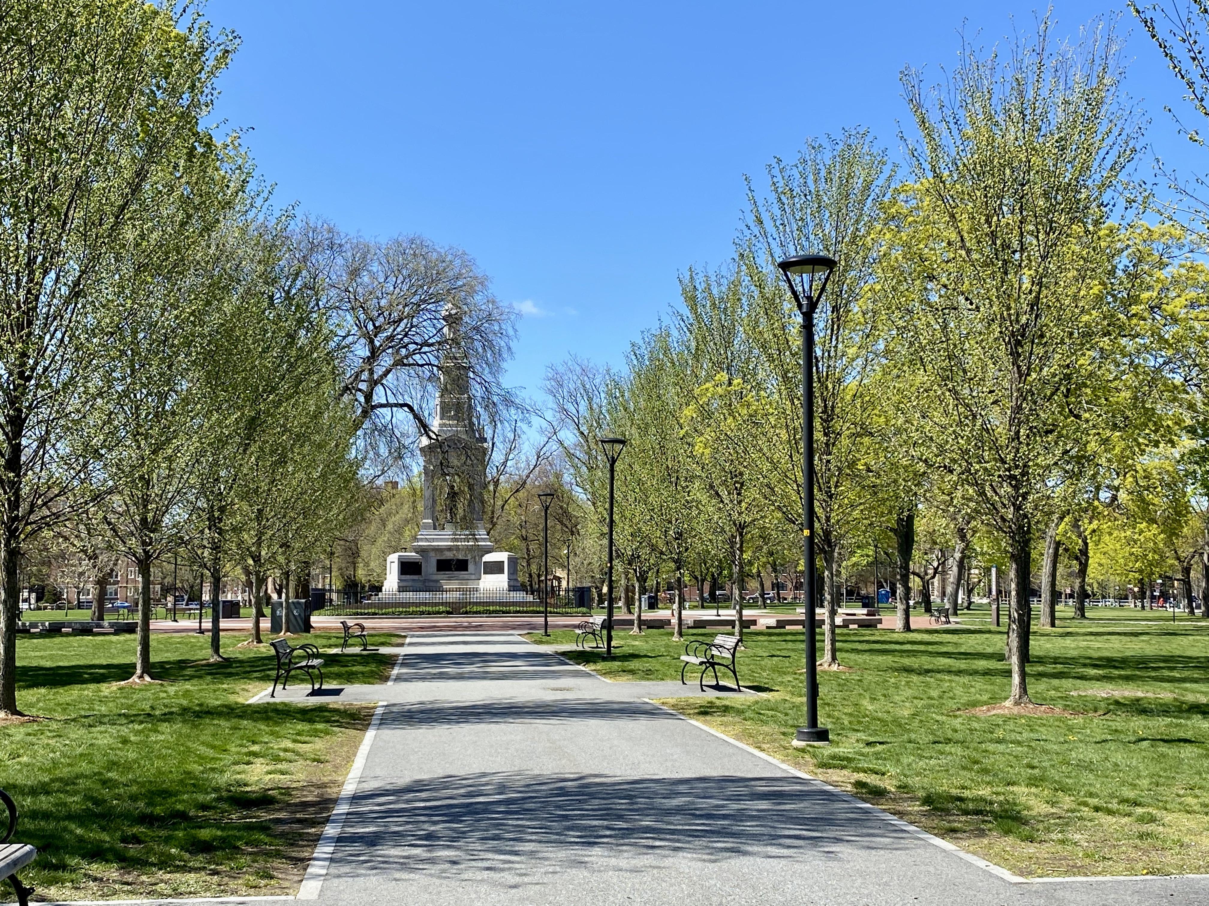 Cambridge Common near Harvard Square