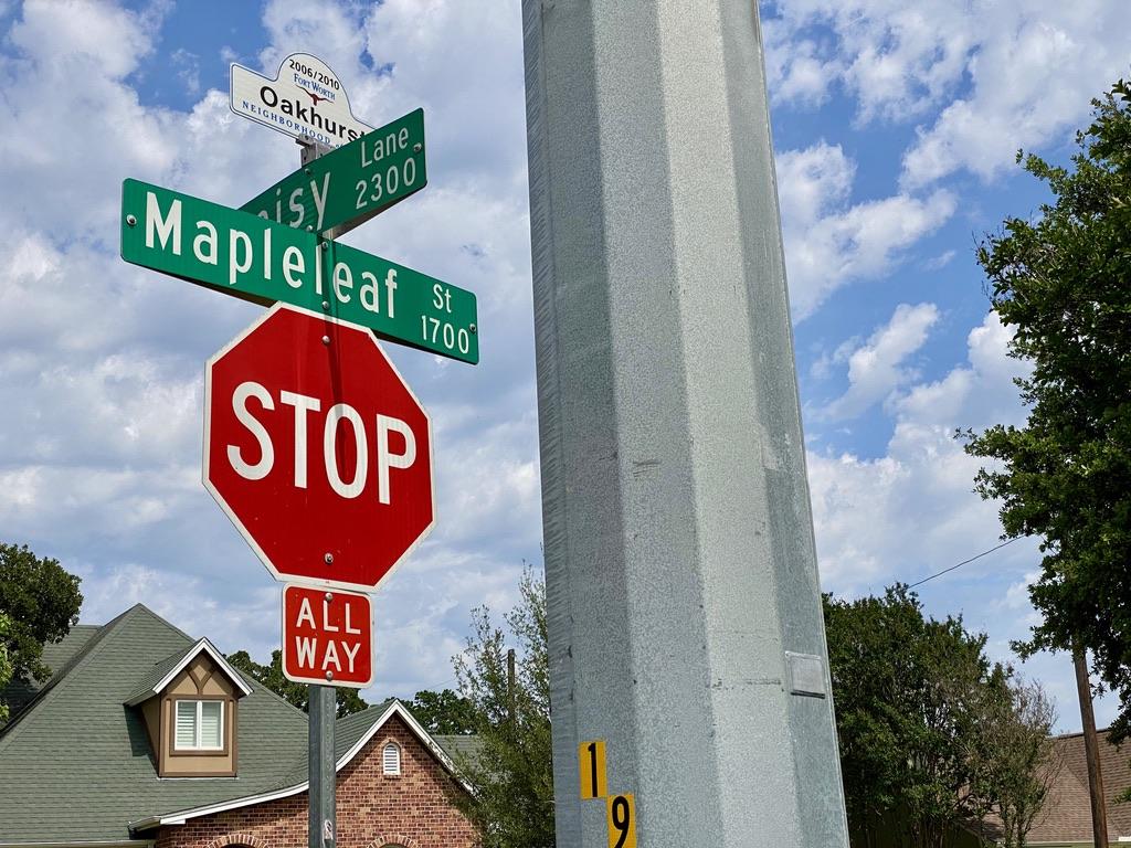 Oakhurst, TX Boundary Streets near Oakhurst Park