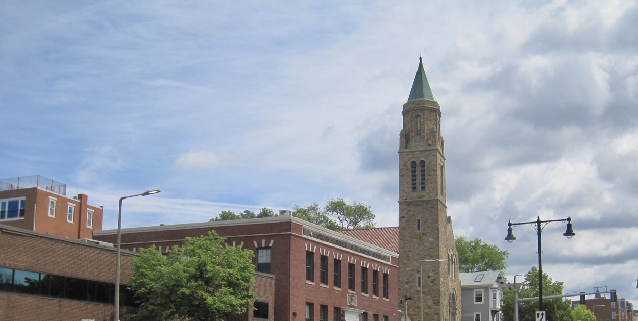 Gordon-Conwell Seminary on Dudley Street