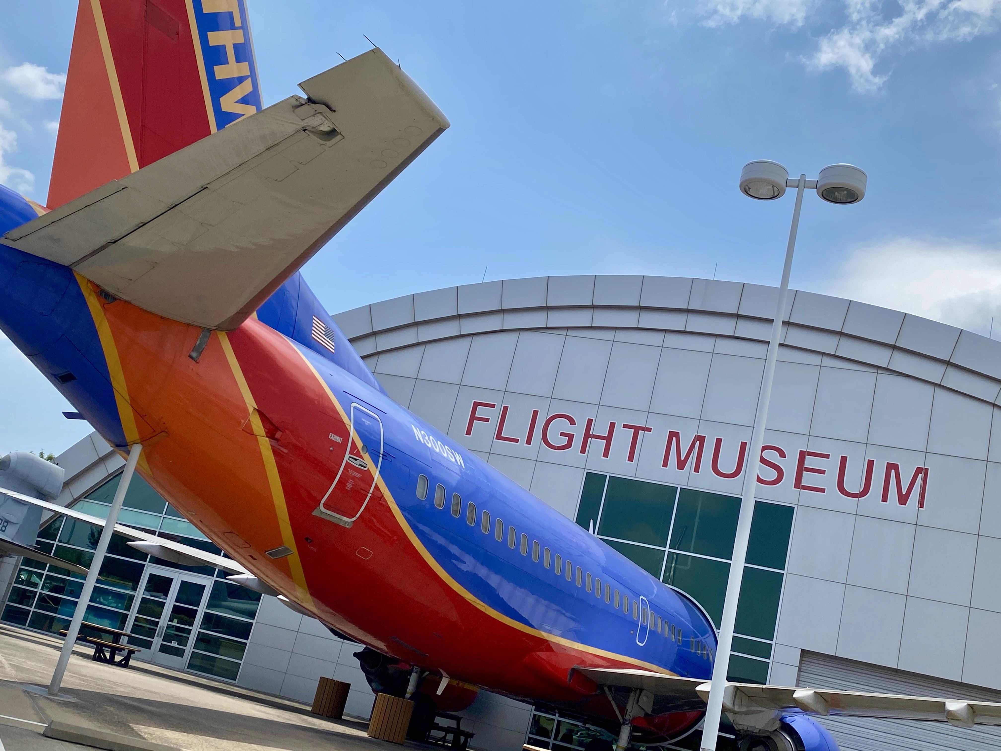 Northwest Dallas Frontiers of Flight Museum
