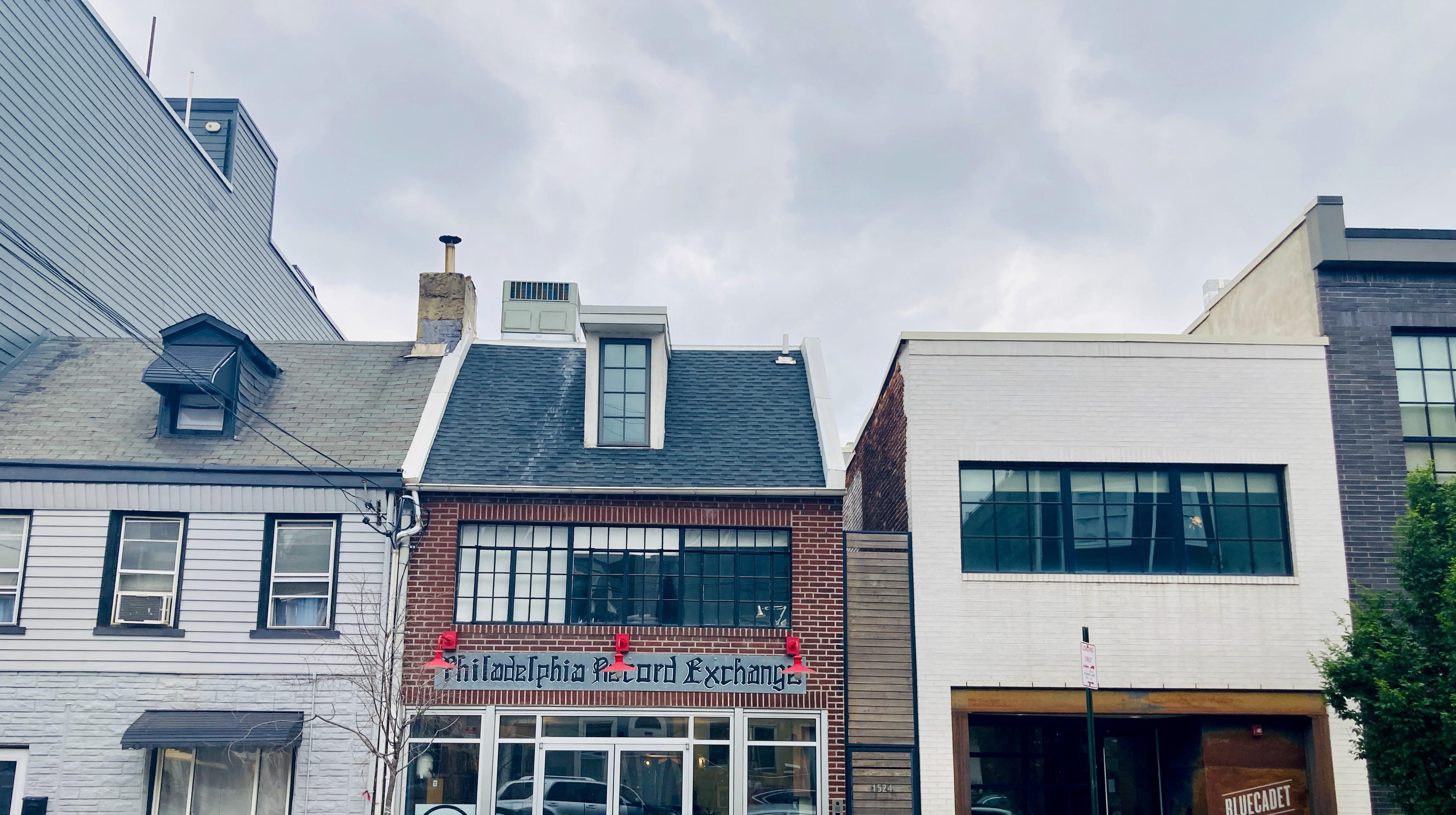 Philadelphia Record Exchange on Frankford Ave
