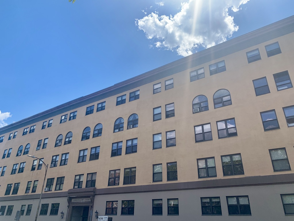 Longfellow Apartments on Mass Ave in Harvard Square