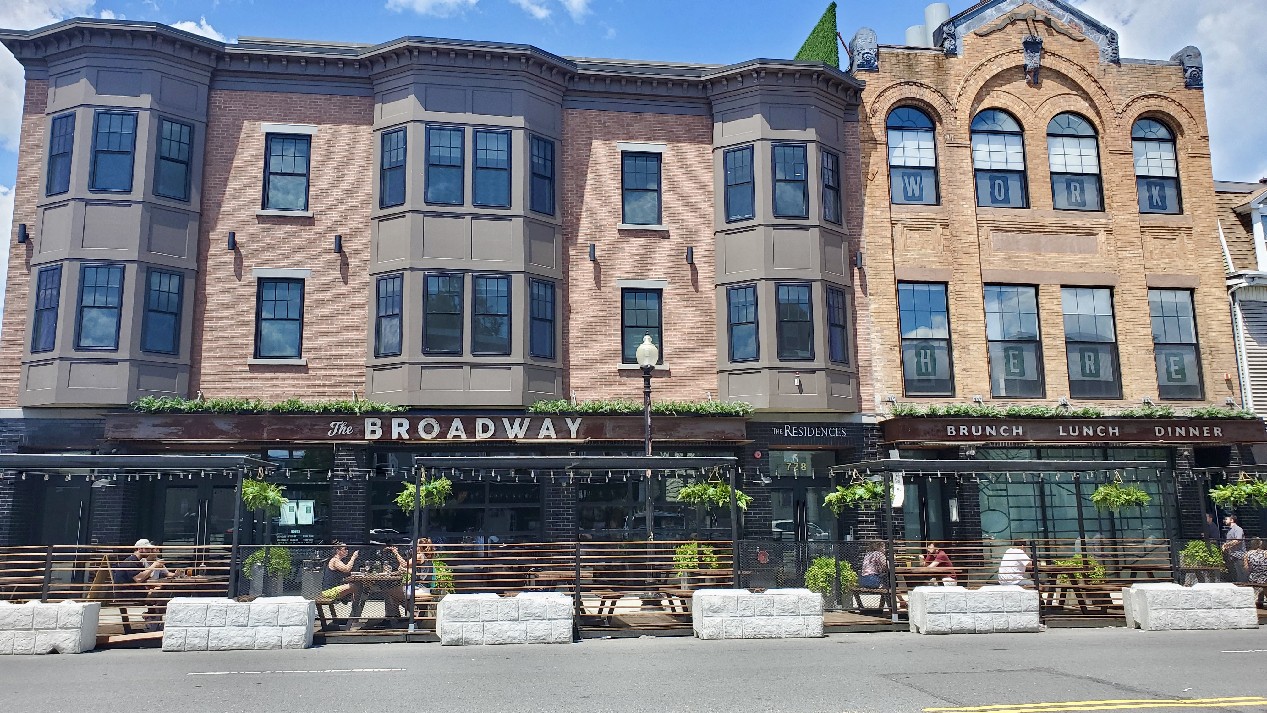 The Broadway Restaurant on East Broadway, South Boston