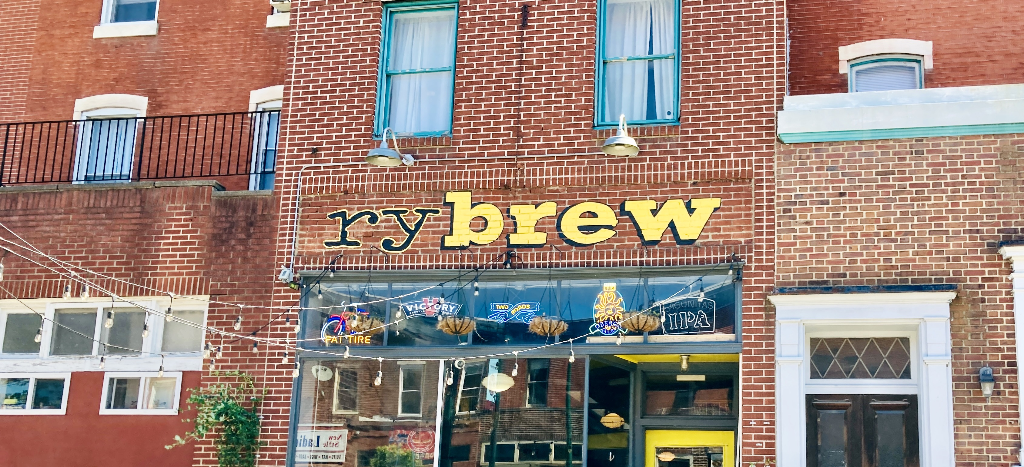 Rybrew on W Girard Ave, Philly