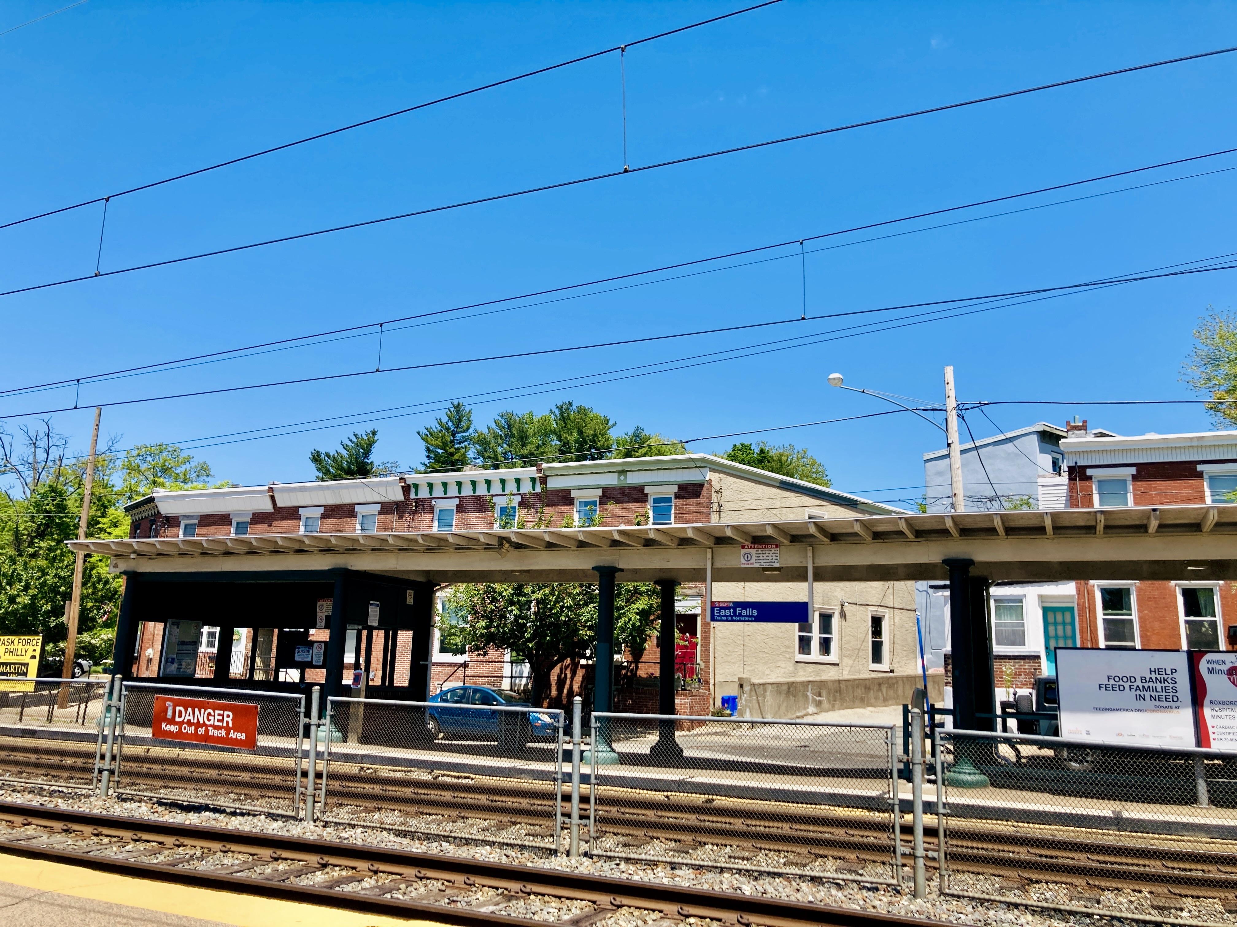 East Falls SEPTA Station
