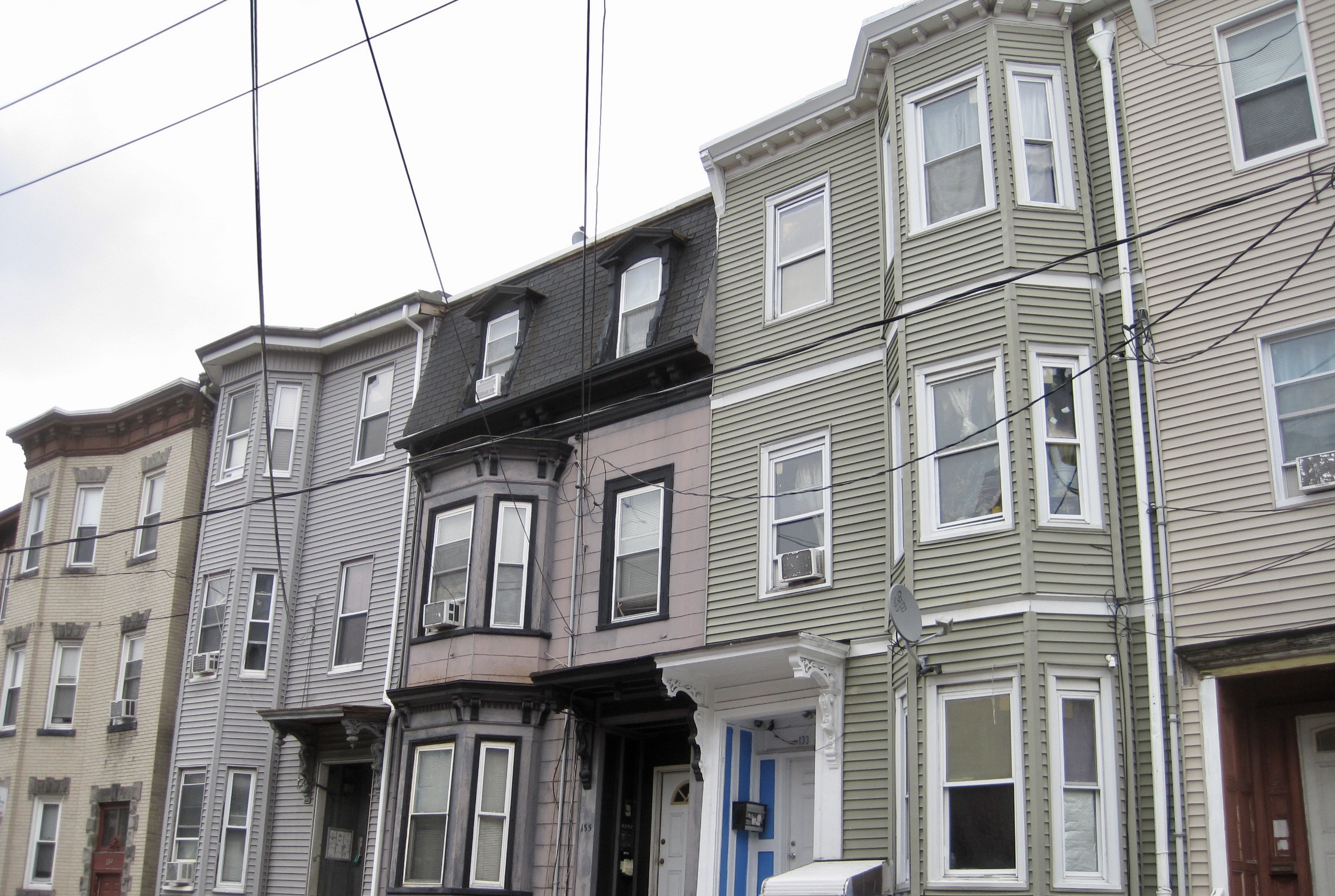 Triple-Decker Homes in East Boston