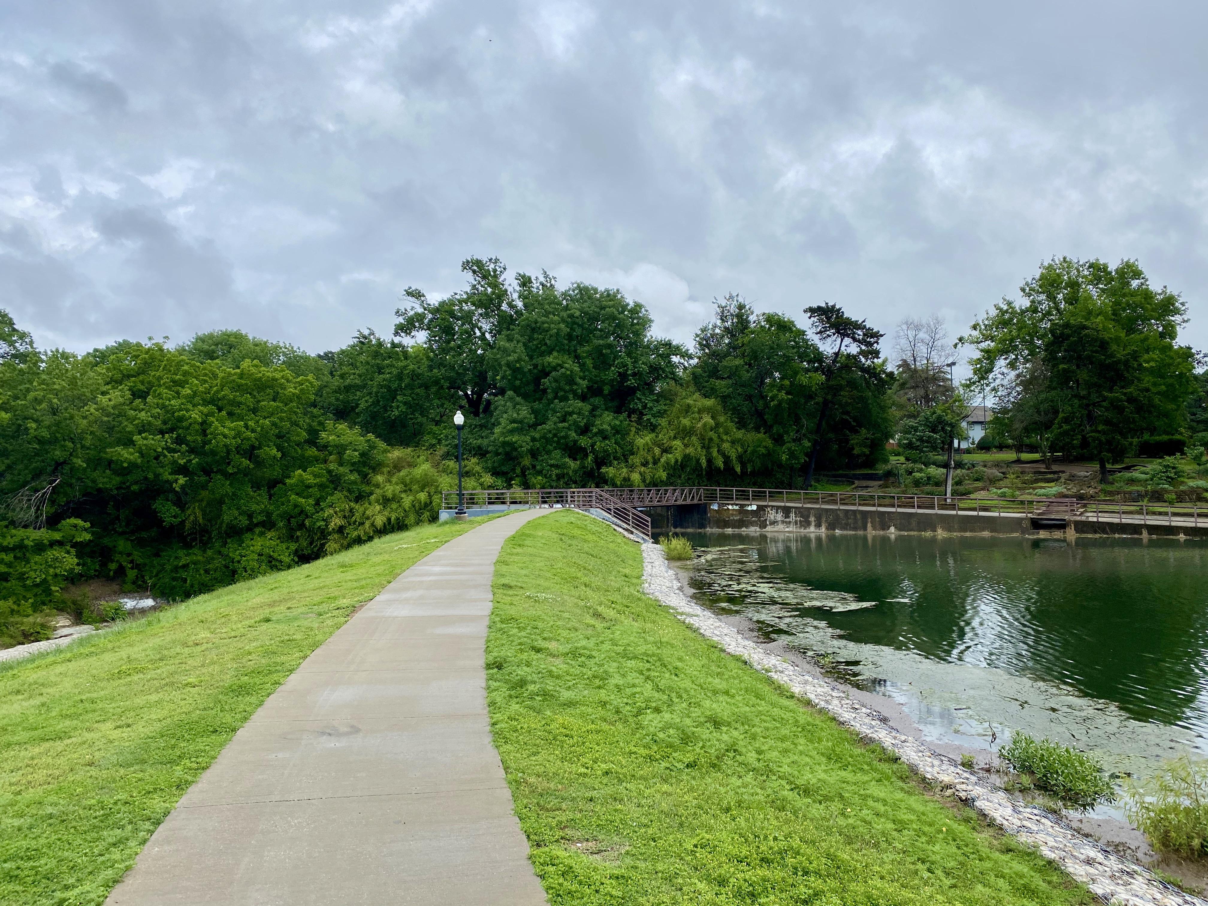 Kidd Springs Park in Oak Cliff, TX