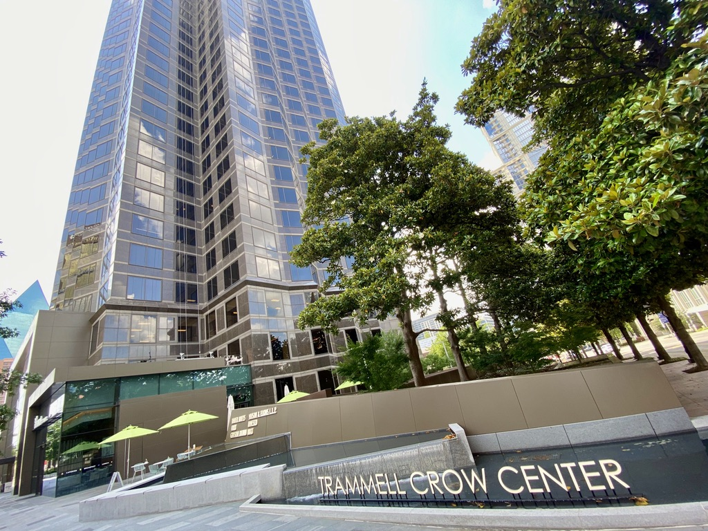Trammell Crow Center in Downtown Dallas Arts District