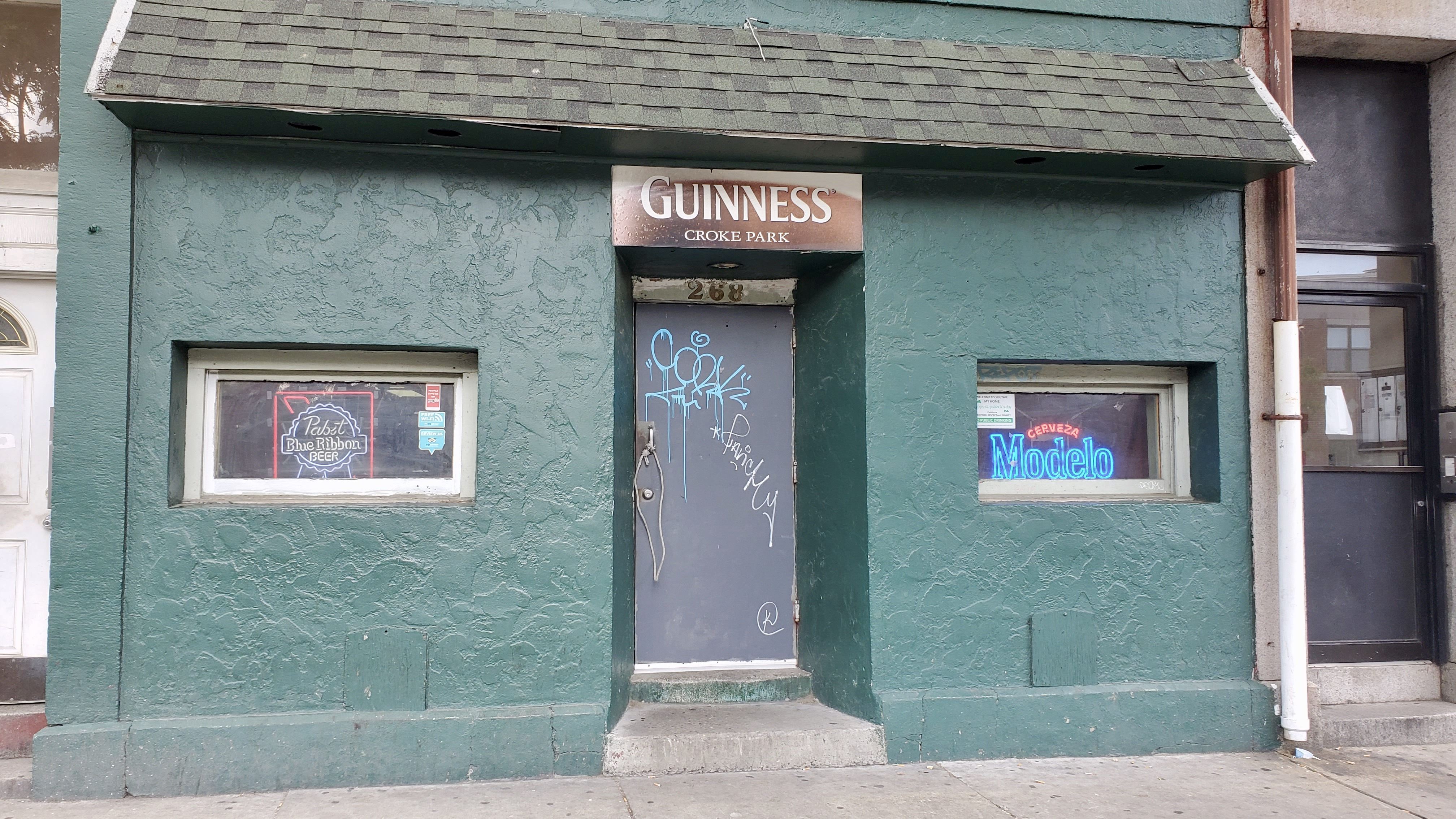 Whitey's Dive Bar at Croke Park in Southie
